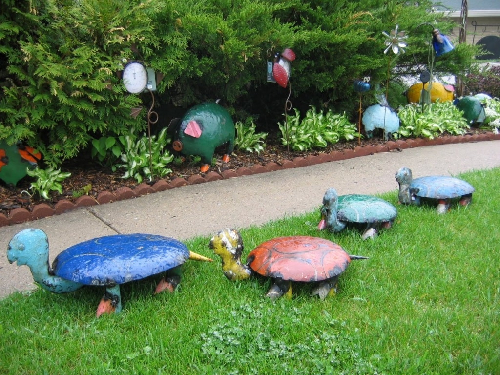 6 elegant easy garden decoration ideas LOLBXCY
