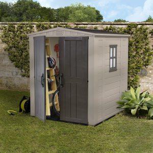 6 x 6 storage shed - quality plastic sheds SKLCPXO