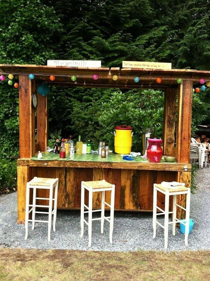 80 incredible diy outdoor bar ideas BDNGSTA