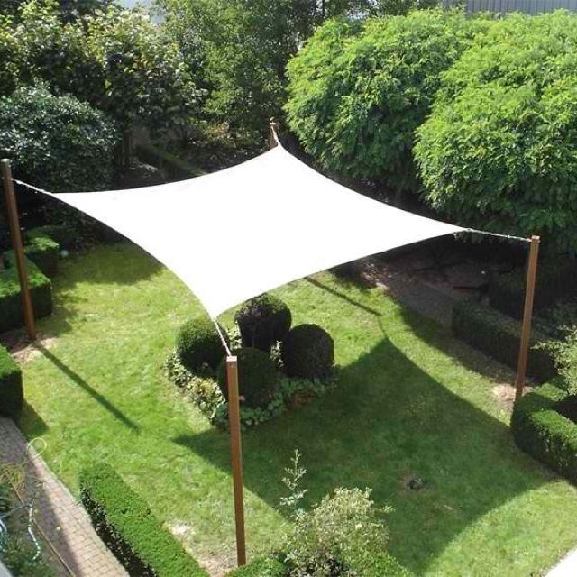 a backyard canopy is a must have when you need a little SHDAZUN