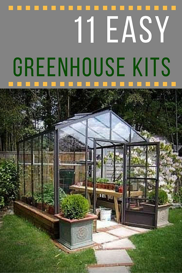 a backyard greenhouse is every serious gardeneru0027s dream. these  easy-to-assemble greenhouse JIYRFKR