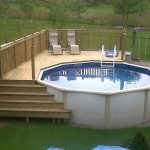 Astonishing above ground pool decks ideas