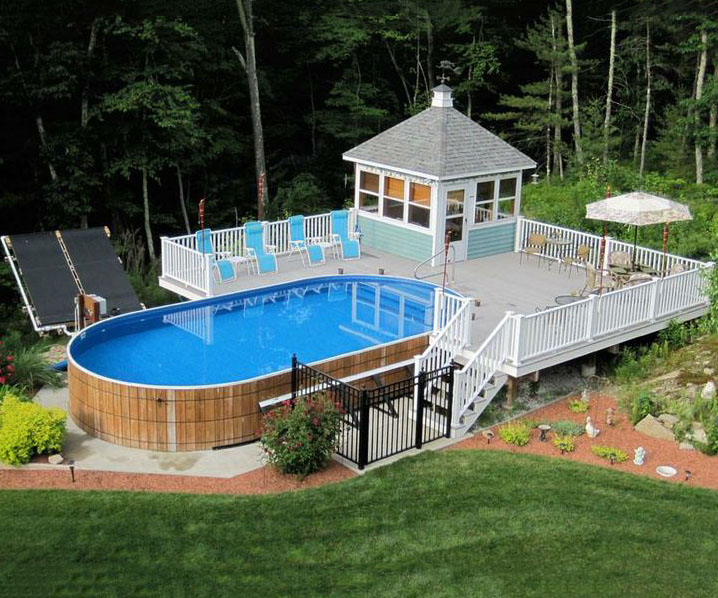 above ground pool deck ideas igqqrpa LBWGRXW