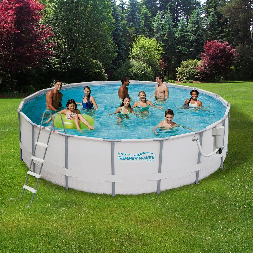 above ground pool deep metal frame swimming above ground JCLXYDF