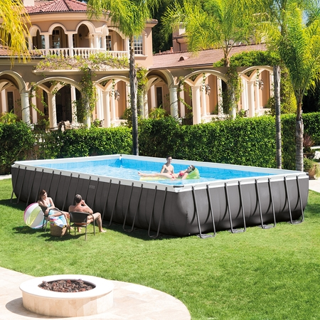 above ground pool intex 32u0027 x 16u0027 x 52 OBUOSXA