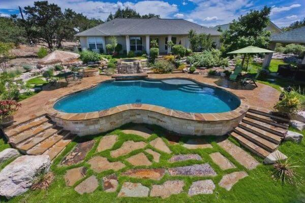 above ground pool landscaping ideas LOHQAEX