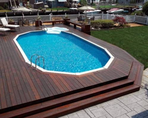 above ground pools with decks get inspired: the best above-ground pool designs | home sweet home | PENNGZW
