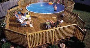 above ground pools with decks image JWGKITJ