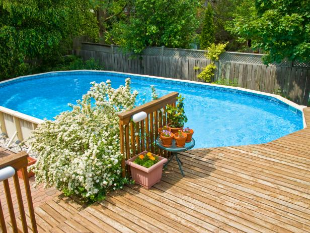 above ground pools with decks pool deck OWGESXZ