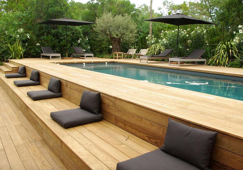 above ground pools with decks WFKASFL