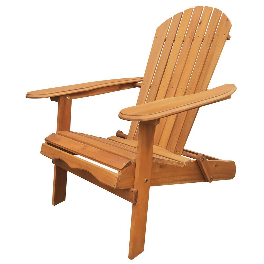 adirondack chairs natural folding adirondack chair KUWOMUO