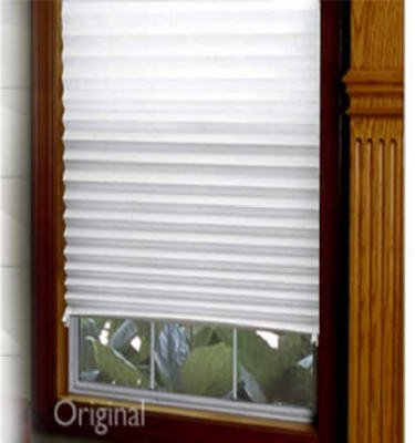 affordable light filtering instant temporary paper blinds (semi permanent)  91cm x NFRWIDC