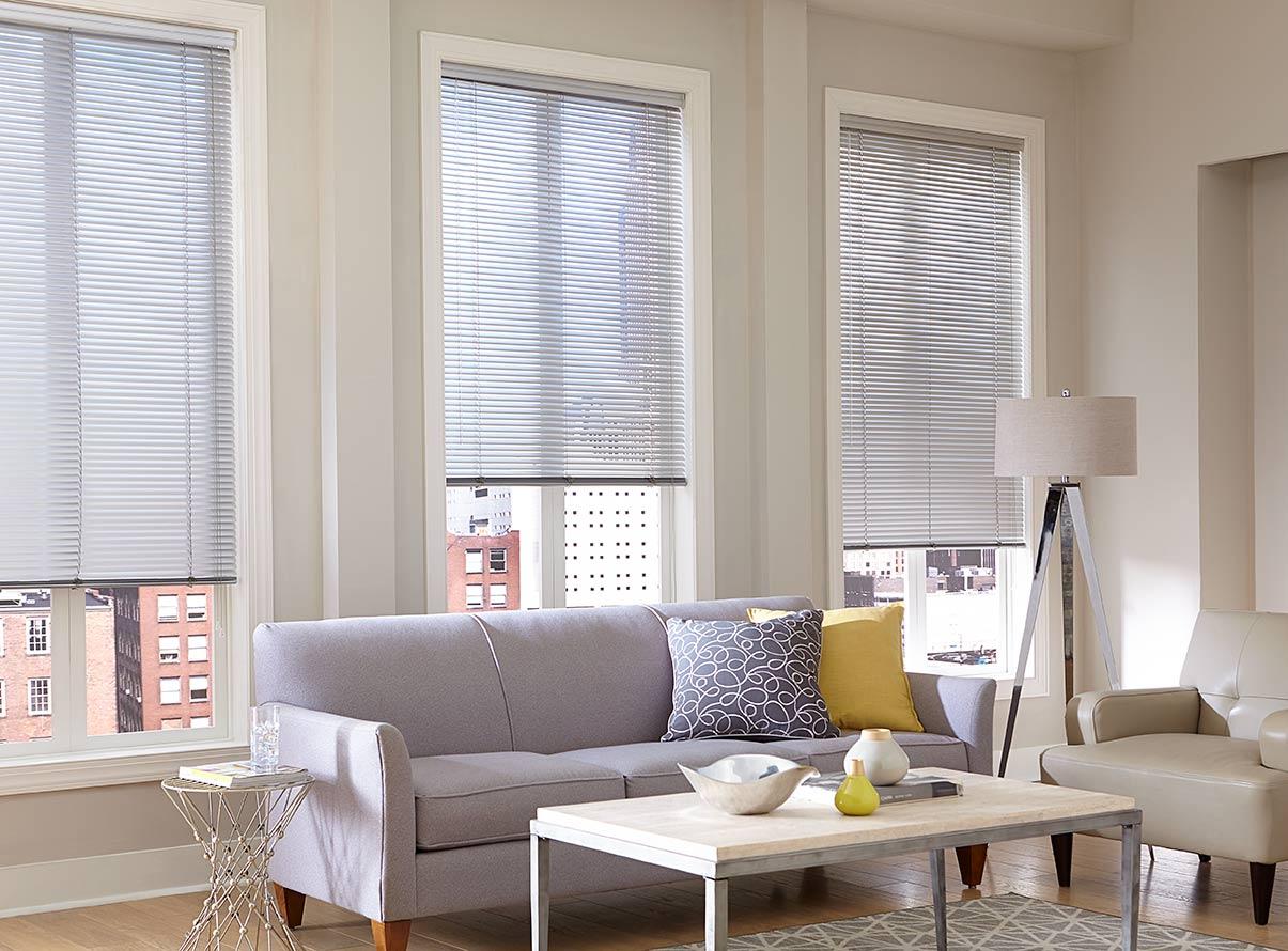 aluminum blinds 1u0027u0027 aluminum mini blind | thehomedepot IAQOFIB