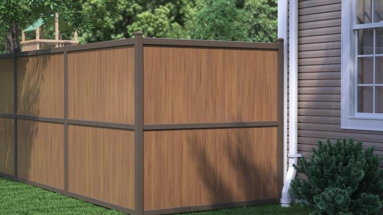 aluminum-vinyl privacy fencing NRHLPLN