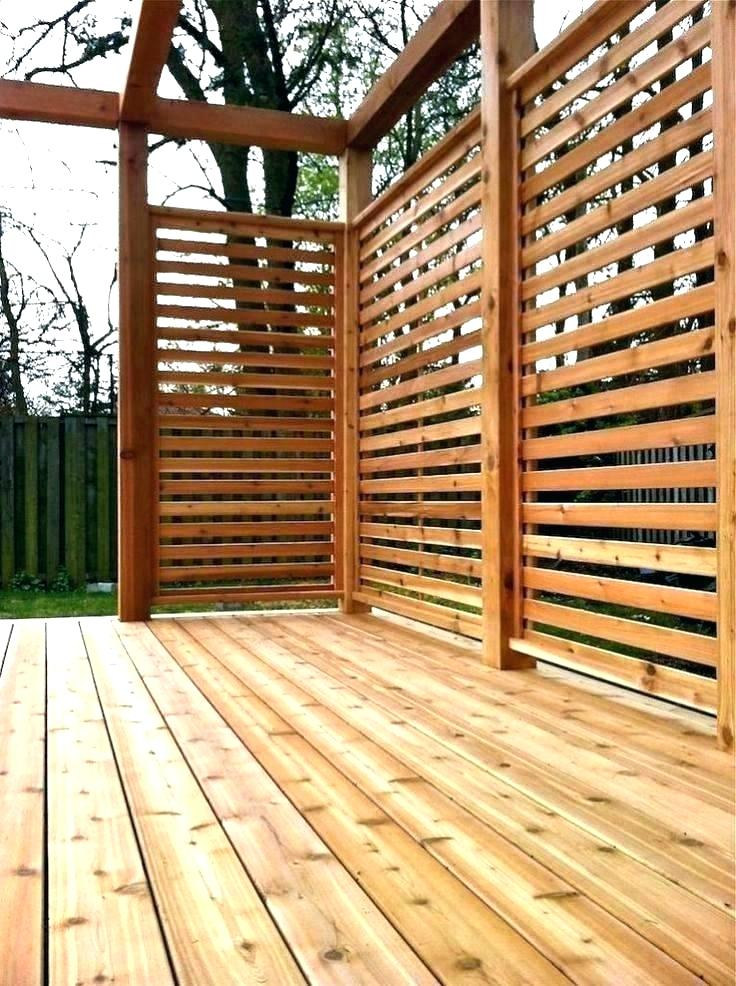amazing deck privacy screen for outdoor idea home depot panel canada fabric SCVFBAL