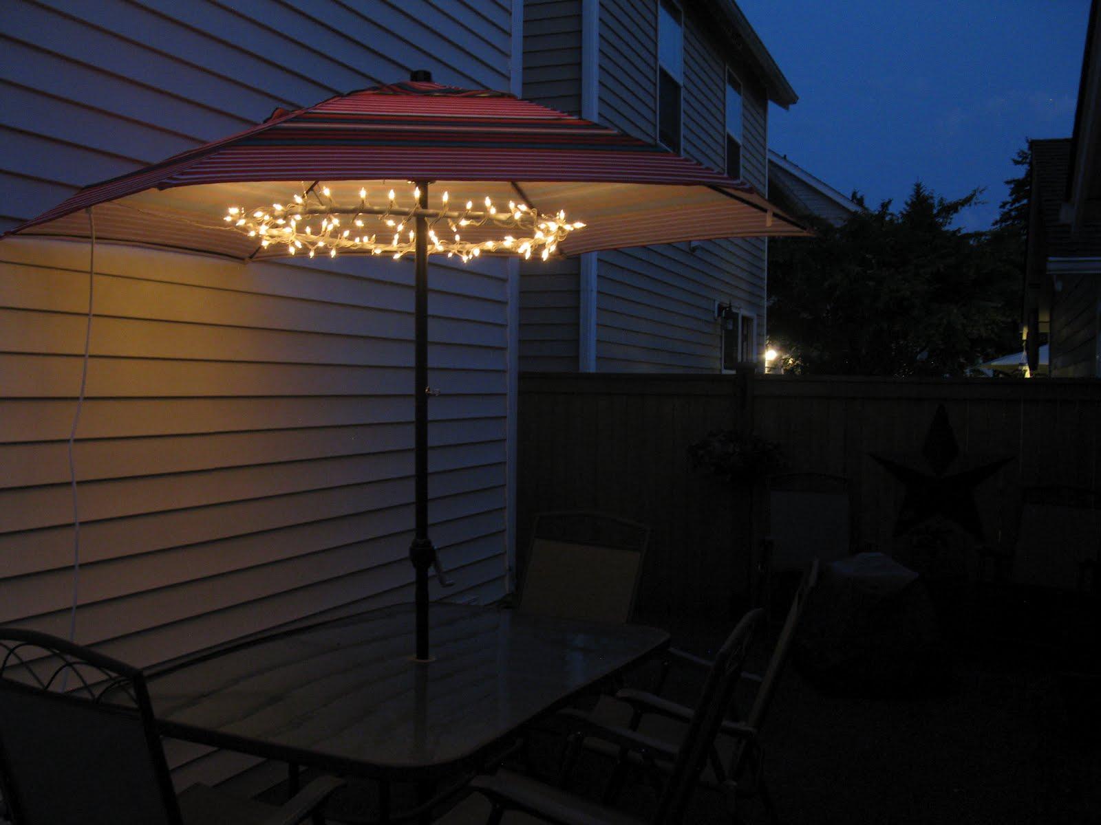 amazing patio umbrella lights FLVFABH