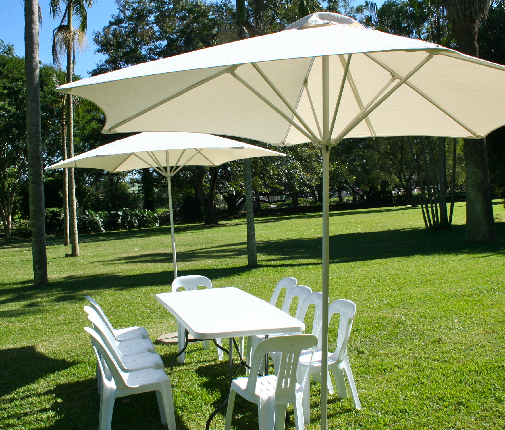 Three Uses to which you can put a Garden Umbrella to
