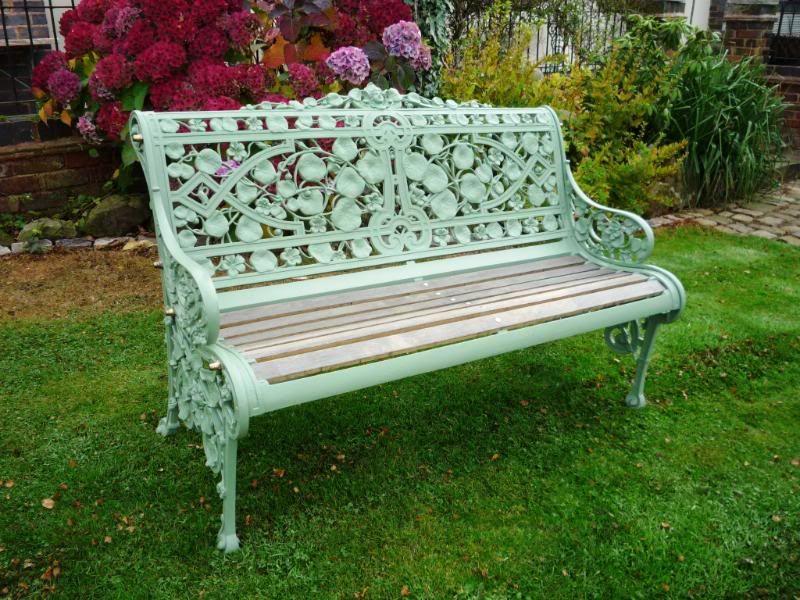 antique bench,garden bench,garden seat,ukaa,cast iron garden seat,cast800 x  600115.3kbwww.ukarchitecturalantiques. CEGVXOE
