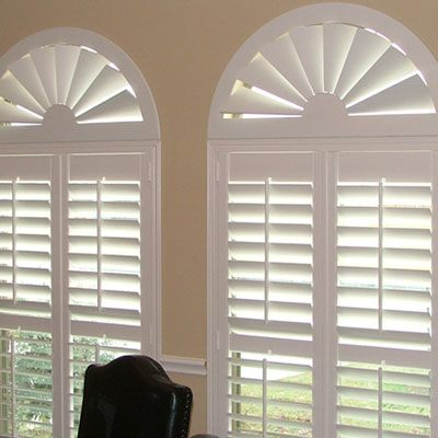 arched window treatments bella view: trademark custom composite wood arch PWPFNWY