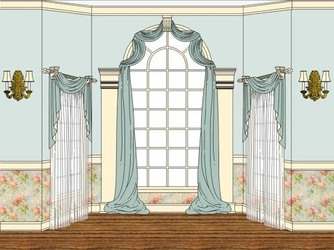An Overview of Arched windows treatments