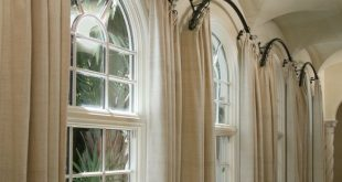 arched window treatments le fer forge - experience the le fer forge difference- custom rods QPIRBYH