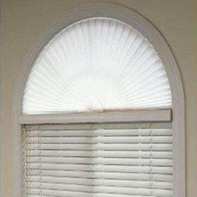 arched window treatments pleated arch shade LRTRIEL