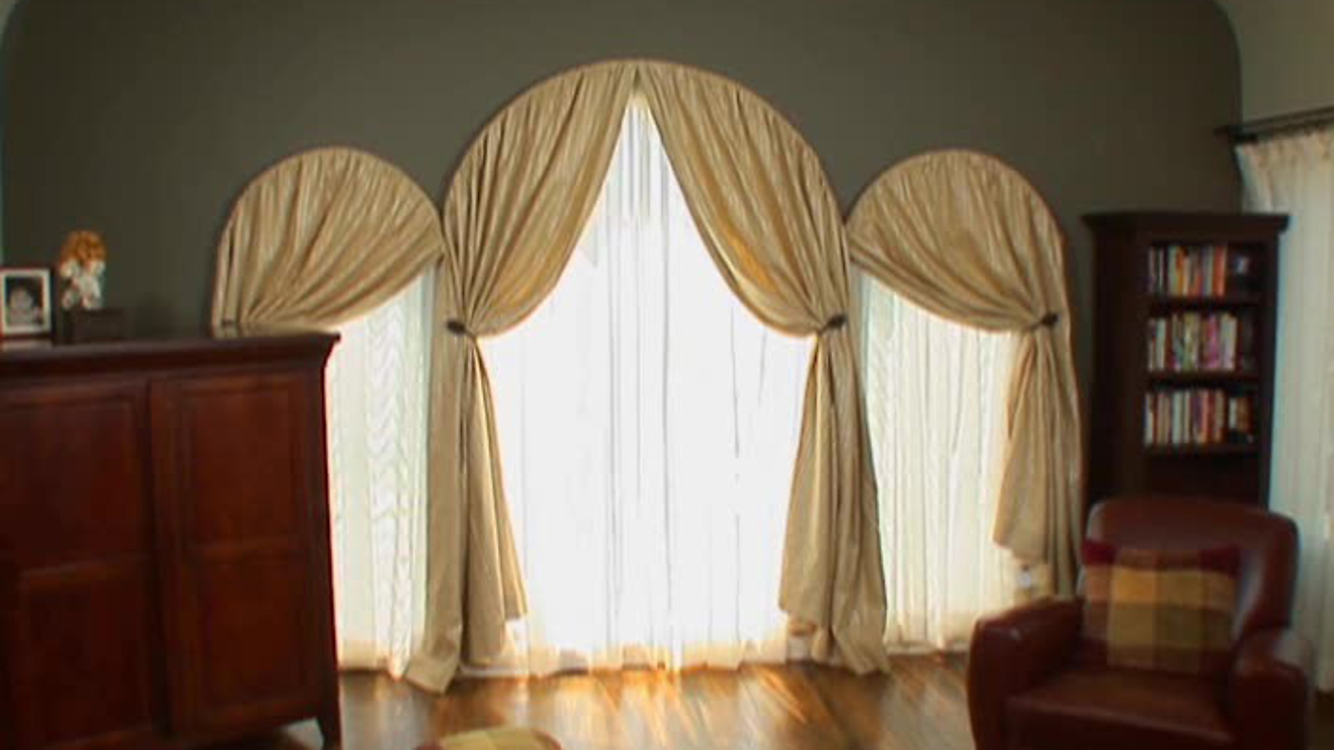 arched window treatments topic: window treatments | hgtv GRBJCIS