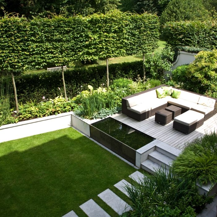 at modern garden design ideas JGPTGEY
