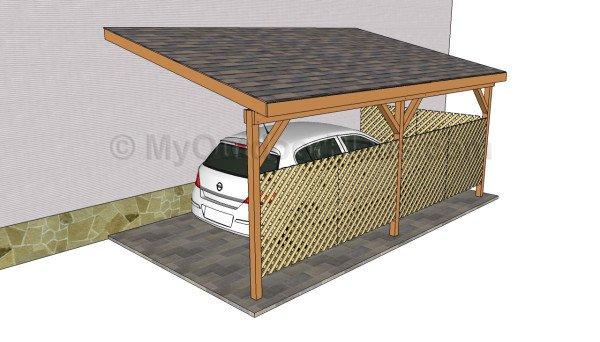 attached carport designs RKDQEVU