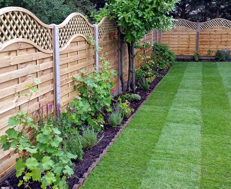 awesome garden fence ideas XIITMZQ