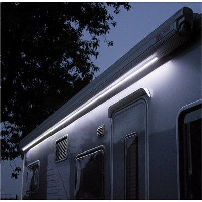 awning lights fiamma led awning case, awning light, exterior lighting - grasshopper  leisure KBRWOTY