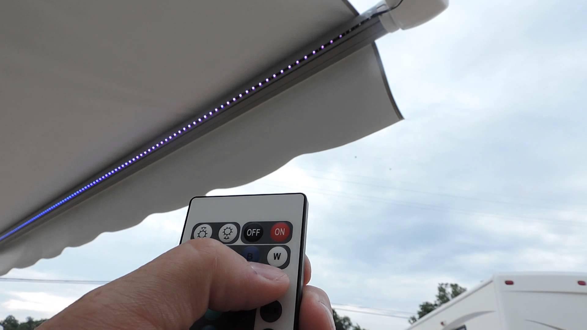 awning lights new led awning light kit installed!!! - youtube QQEVIDR