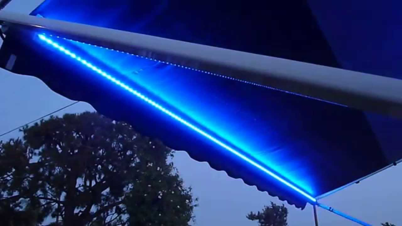 awning lights rv lighting, led strip, waterproof, multicolor, awning/canopy lights, super  bright - AEHQDBE