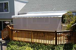awnings for decks awning for deck RQHNSTW