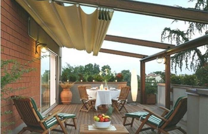 awnings for decks awnings over decks backyard ideas medium size permanent awning for deck XEISVUK