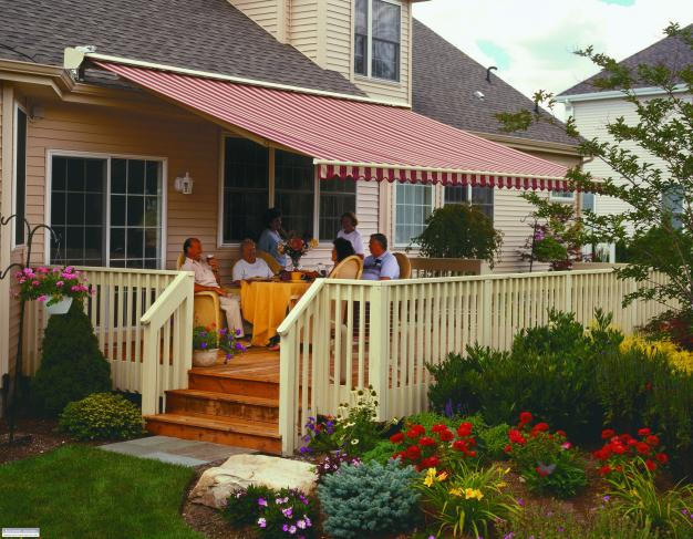 awnings for decks custom retractable awnings ONGFUWS
