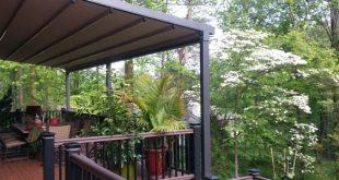 awnings for decks deck awnings ROQYQPU