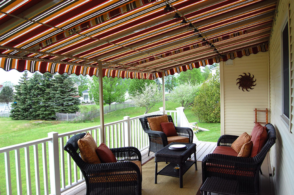 awnings for decks retractable deck awnings TTIDPAO