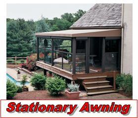 awnings for decks stationary awnings LSRJVYO