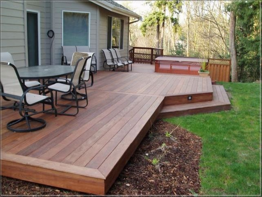 backyard decking designs 15 small large deck ideas that will make your BPWROQL