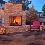 Ways to have a good backyard fireplace