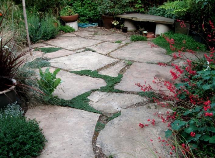 backyard flagstone patio ideas FJXIPOX
