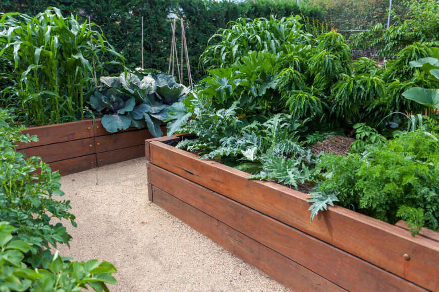 backyard garden 41 backyard raised bed garden ideas BVHATCA