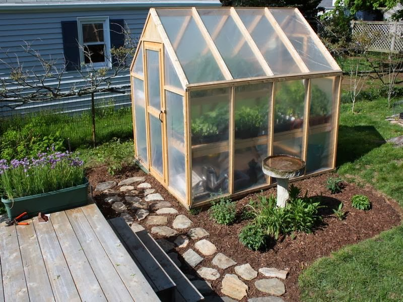 Backyard Greenhouse Plastic Is Still A Main Component To This Structure But The Mmpazgs
