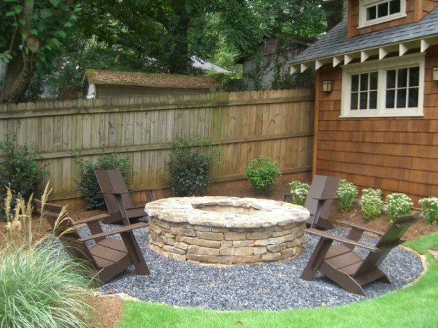 backyard landscape ideas 25 inspirational backyard landscaping ideas DYXNGQL