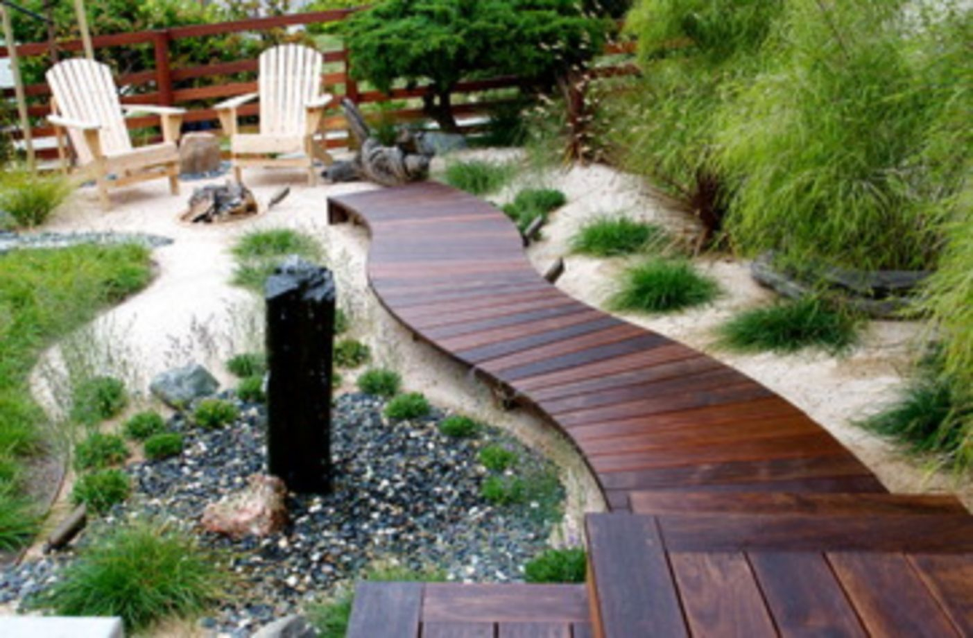 backyard landscape ideas gorgeous grassless backyard landscaping ideas 09 YAFSDOF