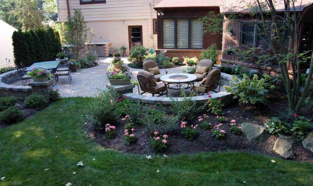 backyard landscape ideas plantings-around-patio-backyard-minnetonka ZIUWJDQ