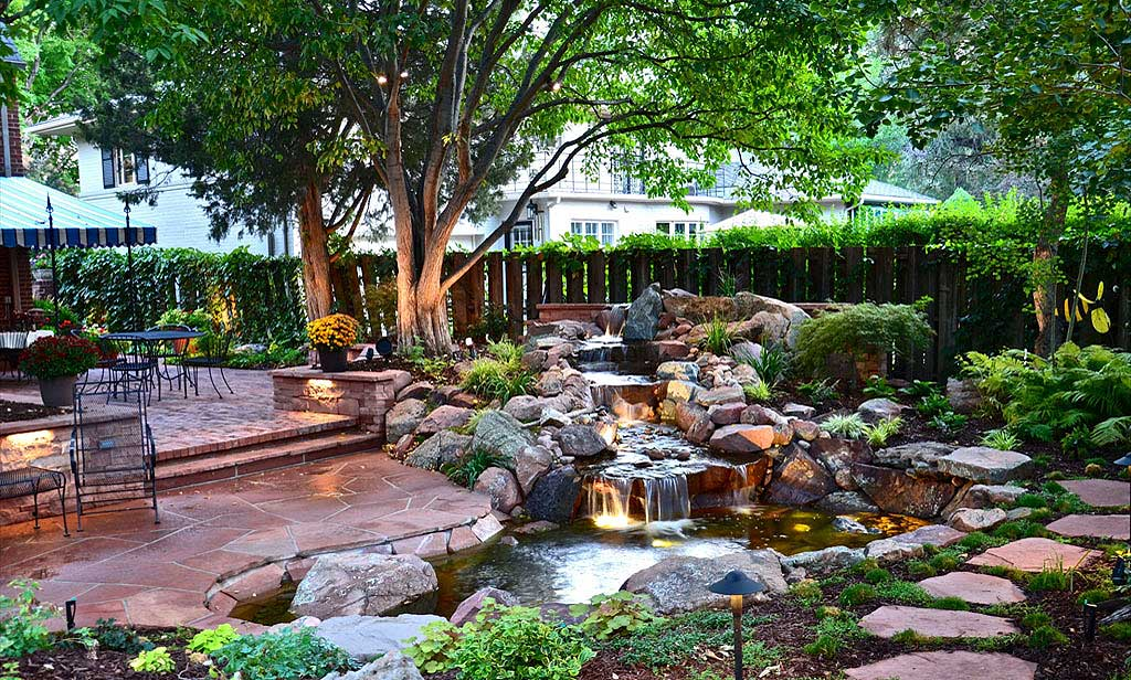 backyard landscaping designs for home IUDJDTD