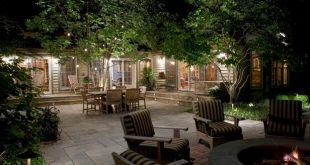 backyard lighting ideas multi-dimensional lighting BDCJXFM