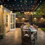 backyard patio ideas example of a classic backyard